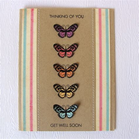 handmade get well soon card folksy