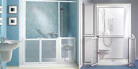 Disabled Shower Doors Walk In Showers Surrey