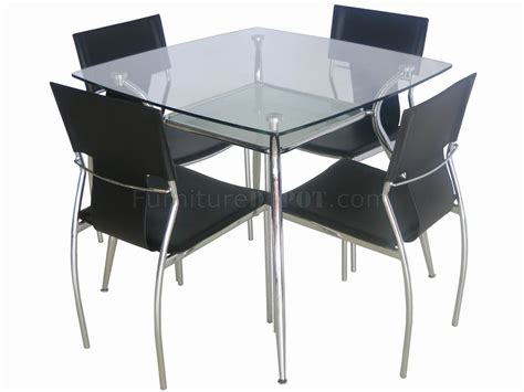 modern square glass dining table contemporary glass dining table glass top metal legs