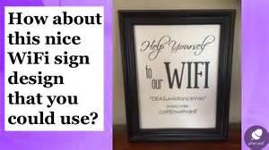 Clever Desk Ideas amazing salon wifi sign ideas