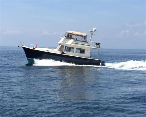 boat loans connecticut 2007 mainship 43 trawler power boat for sale www