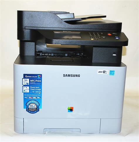 Printer Samsung All In One samsung xpress c1860fw color all in one laser printer sl c1860fw xaa 800146817 ebay
