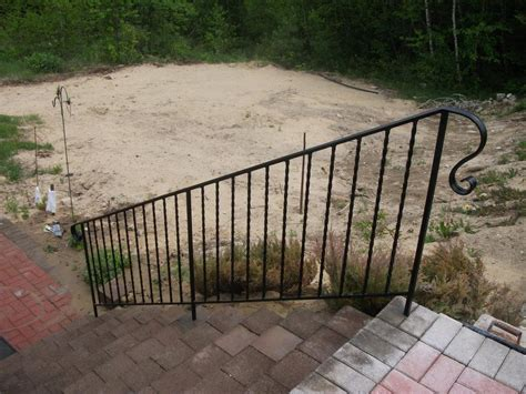 Wrought Iron Handrail Wrought Iron Handrail From Mainely Handrails In Waterville