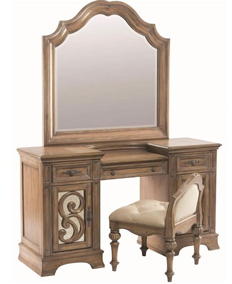Antique 3 Mirror Vanity by 3 Coaster Ilana Vanity Desk Mirror And Stool Antique