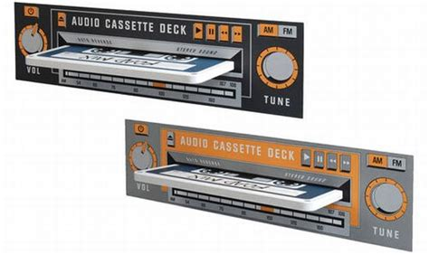 Cassette Shelf by Wall Graphics That Bring Back The Cassette Decks To
