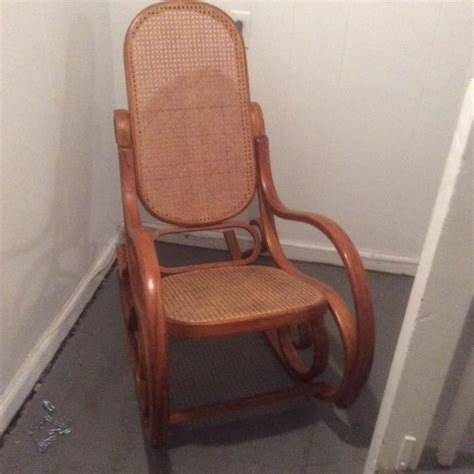 vintage mid century thonet style bentwood rocker back bentwood back rocker for sale classifieds