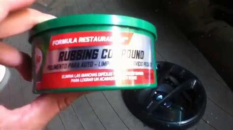 pulir vidrio como pulir cristal automotriz parabrisas facil y rapido