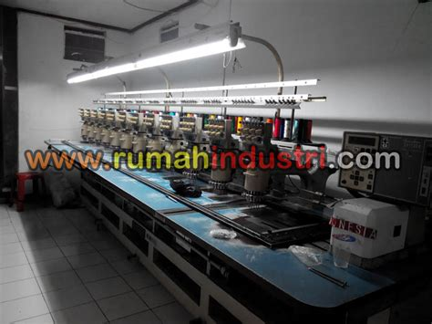 Mesin Bordir Industri workshops rumah industri rumahindustri