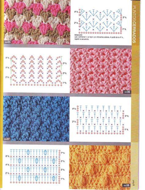 graficos de puntos calados de crochet patrones de punto a crochet imagui