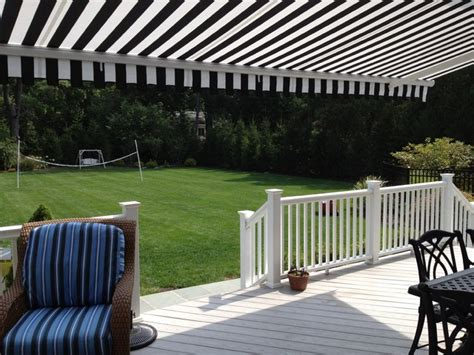 black and white striped awning retractable awning black white stripe traditional