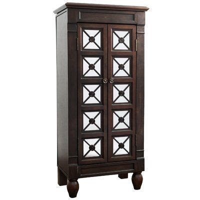 jewelry armoire espresso finish 1047 best jewelry armoires images on pinterest