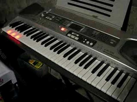 casio keyboard light up keys casio keyboard lk 55 youtube
