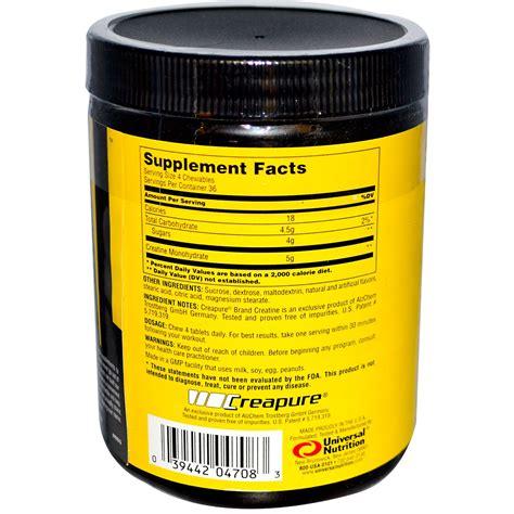 creatine supplements universal nutrition creatine chews chewable creatine
