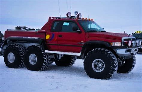 All Dodge by All Terrain 6x6 Dodge Ram In Iceland Cummins