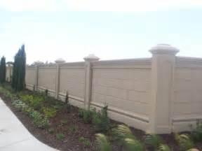 precast concrete fence systems precast concrete walls