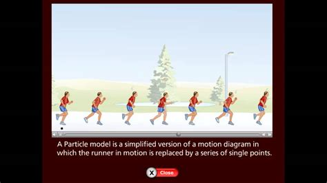 particle model motion diagram p p ch 2 motion diagram vs particle model