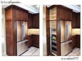 25 best ideas about refrigerator cabinet on
