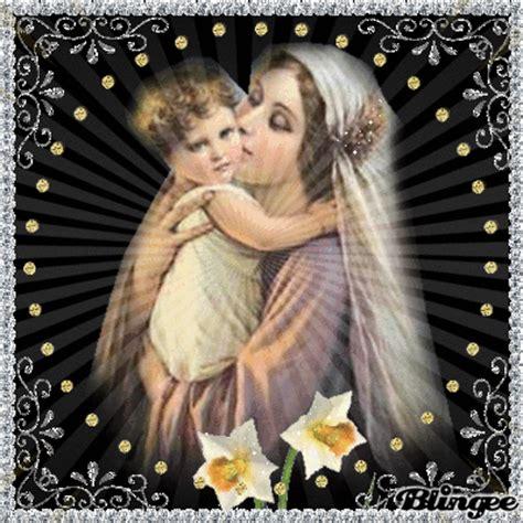 imagenes de la virgen maria y el nino la virgen y el ni 209 o fotograf 237 a 115980938 blingee com