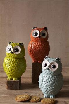owl canisters for the kitchen 1000 images about kitchen cantsters on pinterest