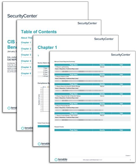 Cis Report Template Cis Junos Benchmark Reports Sc Report Template Tenable