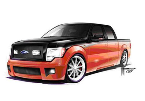 imagenes de pick up ford tuning tuning cuarteto de ford lobos modificadas para el sema