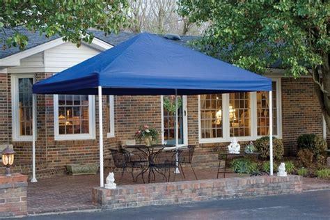 shelterlogic    blue decorative garden canopy shelter