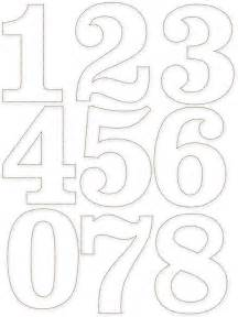 Templates For Numbers by 1000 Bilder Zu Trafareti Auf