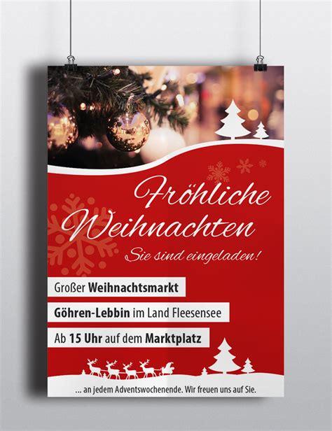 Muster Einladung Weihnachtsmarkt J 252 Ngst Realisiert Flyer Und Plakate F 252 R Kunden 4eck Media Gmbh Co Kg