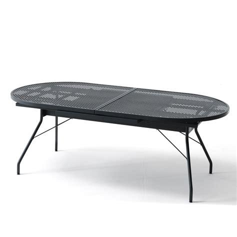 tavoli in metallo tavolo allungabile in ferro per giardino reef 160