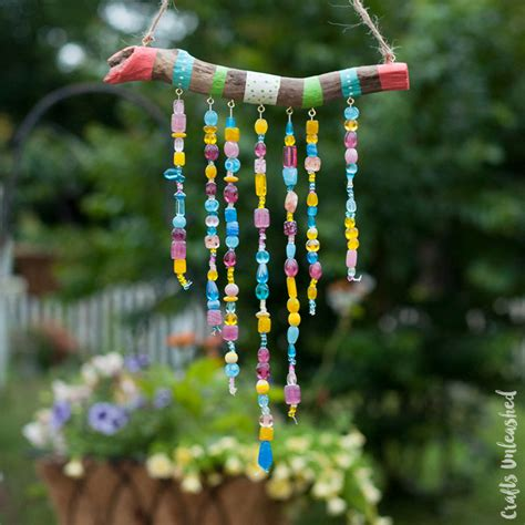 wind chimes diy beaded diy wind chimes for