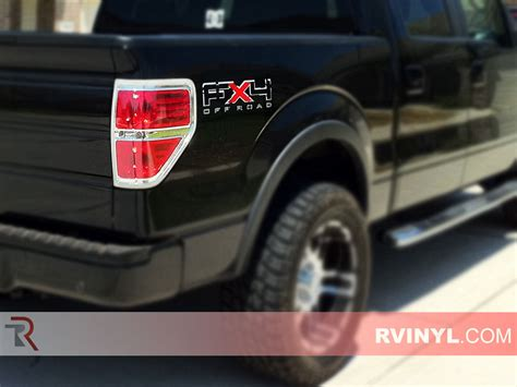 2014 ford f150 tail light cover rtint 174 ford f 150 2009 2014 tail light tint film