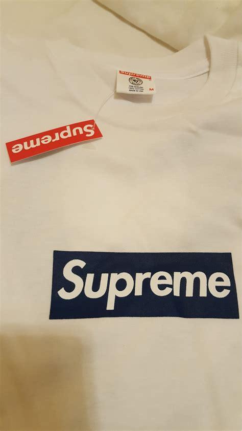 Kaos Supreme Logo Box 23 supreme ny yankee box logo 287545 from buggin at klekt