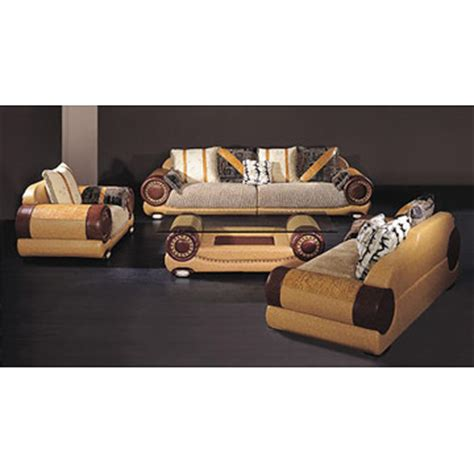 Pigmented Leather Sofa by Home Furniture Page 5