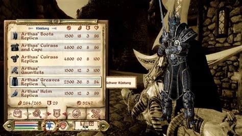 oblivion best mods tes iv oblivion arthas armor and sword mod