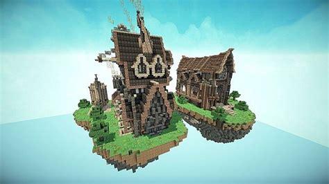 steampunk style map pack minecraft build world