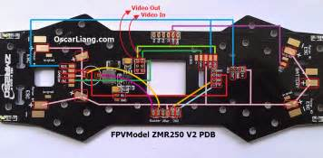 zmr250 v2 build log mini quad with pdb oscar liang