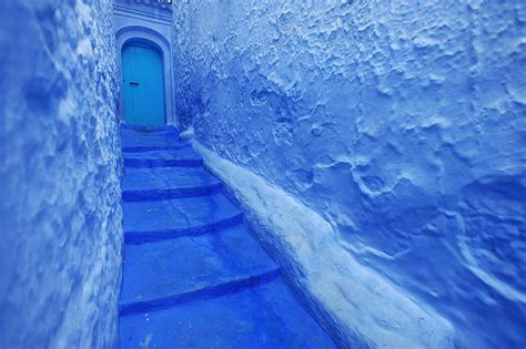 blue city in morocco chefchaouen the city of morocco chefchaouen
