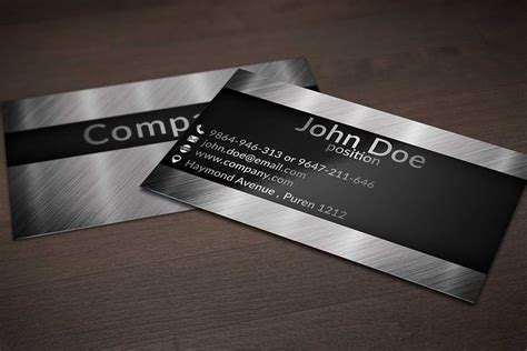 design background name card 40 unique stylish psd corporate business card designs