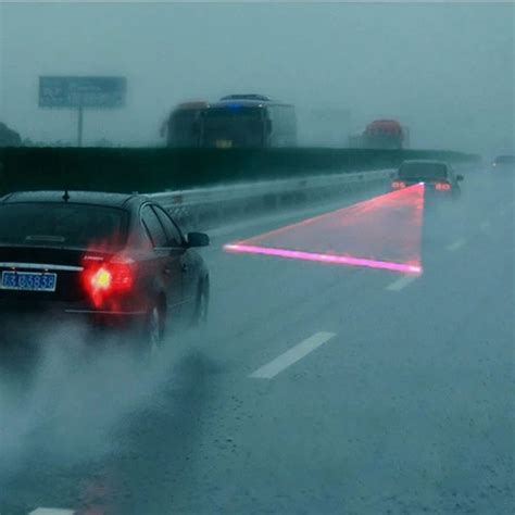 Laser Fog Light 1 Auto Car Laser Fog Warning L Lights Driving Safety