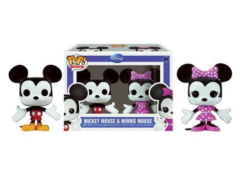 Kaos Mickey Minnie Pop funko pop mini disney mickey minnie mouse set hypermart