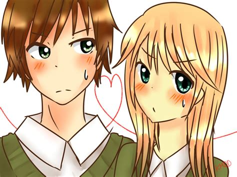 Anime Friends Boy And Girl Www Imgkid Com The Image Anime Friends Boy And