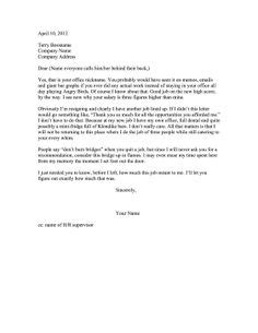 resign vacation pay resignation letter