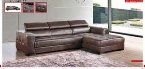 Small Leather Sectional Sofa With Chaise Small Brown Leather Tufted Sectional Sofa With Chaise And