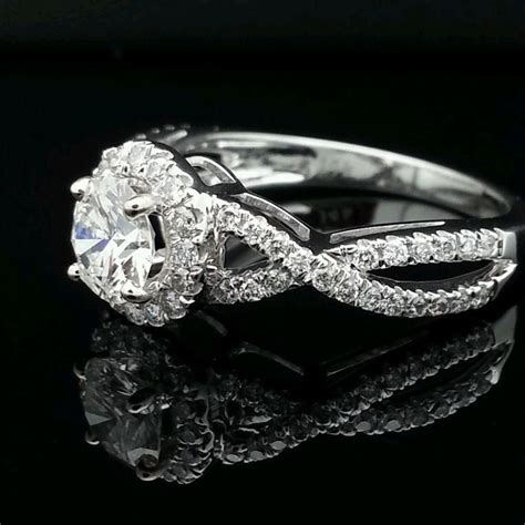 Polar Diamonds In The 77 best engagement rings images on white gold