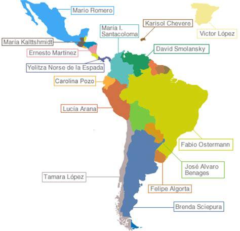 america mapa nombres mapa de america con su nombres imagui