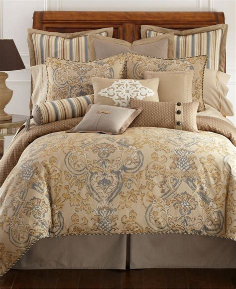 macy s bedspreads and comforters waterford harrison king comforter bedding collections