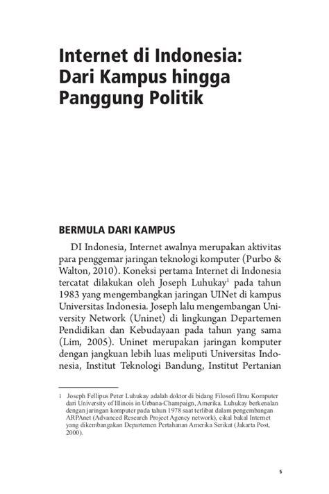 Orde Media Kajian Televisi Dan Media Di Indonesia Pasca Orde Baru media dan demokrasi di indonesia