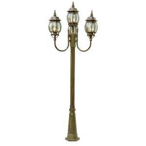 Patio Light Pole Bel Air Lighting Cabernet Collection 4 Light 96 In Outdoor Verde Green Pole Lantern With Clear