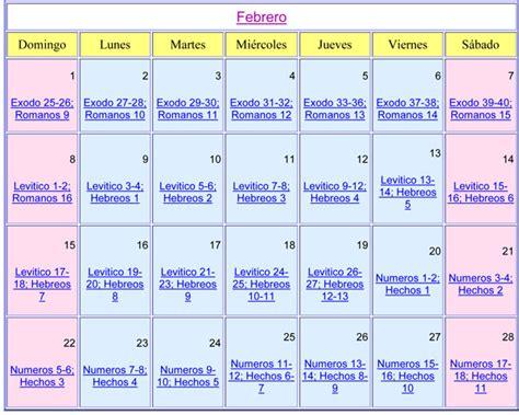 Calendario Cristiano Febrero 15