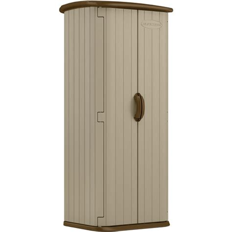 Vertical Utility Shed by Suncast Vertical Utility Shed Sand Walmart